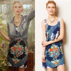 Anthropologie Maeve Floral Tisana Dress